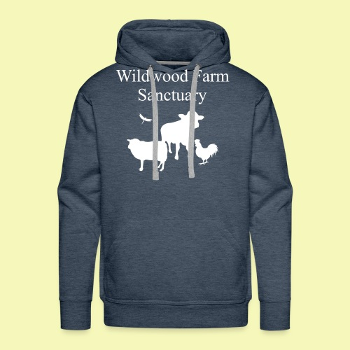 White Cow - Men's Premium Hoodie