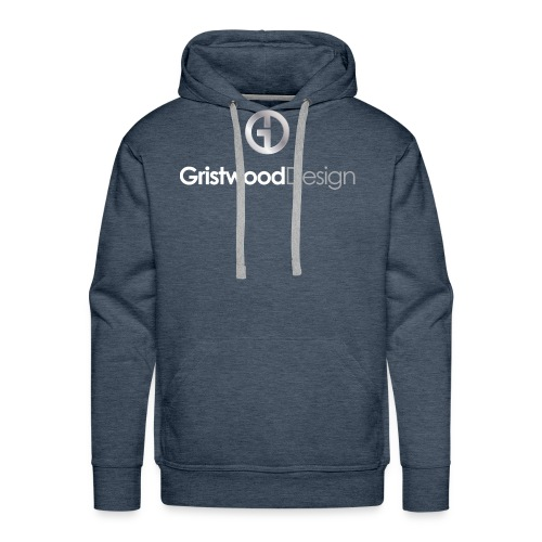 Gristwood Design Logo For Dark Fabric - Men's Premium Hoodie