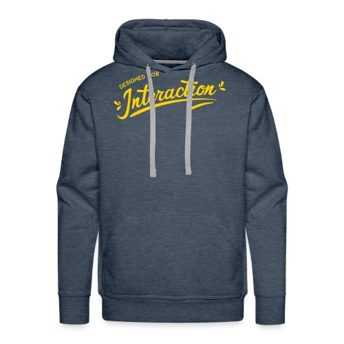 Designed for Interaction - Men's Premium Hoodie