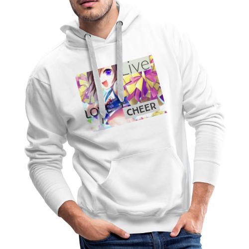 live love cheer - Men's Premium Hoodie