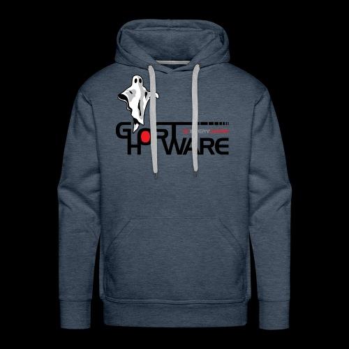 Ghostware Wide Logo - Men's Premium Hoodie