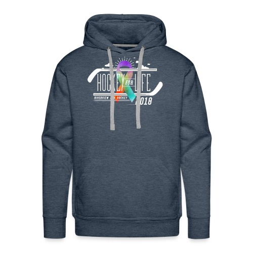 Hockey For Life 2018 - Men's Premium Hoodie