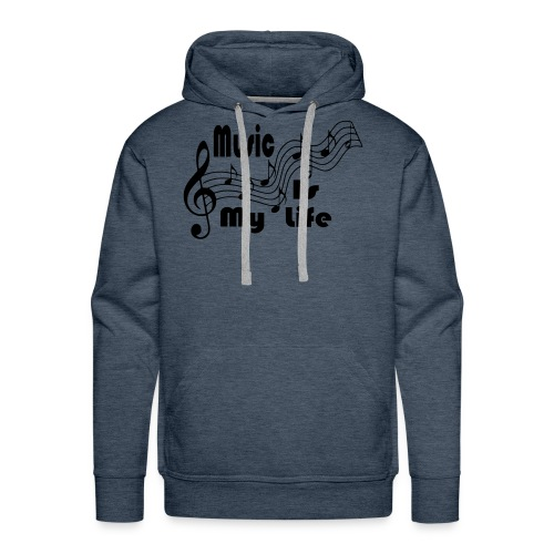 Music Is My Life - Men's Premium Hoodie