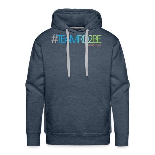 team rd2be transparent 2 png - Men's Premium Hoodie