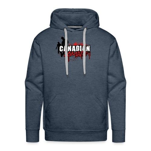 Canadian Zombie - Men's Premium Hoodie