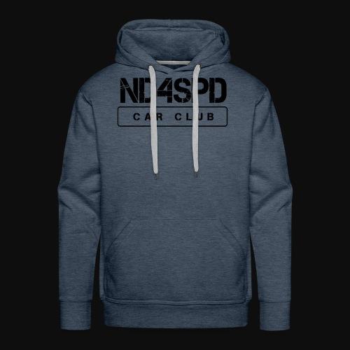 ND4SPD Logo 3.0 - Black - Men's Premium Hoodie