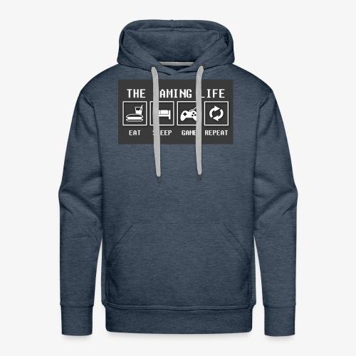 Gaming is life - Men's Premium Hoodie