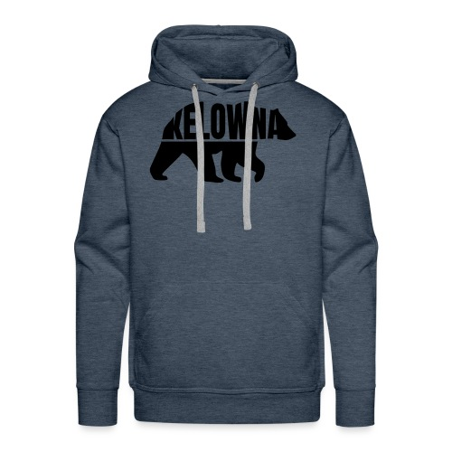 Kelowna Grizzly B&W - Men's Premium Hoodie