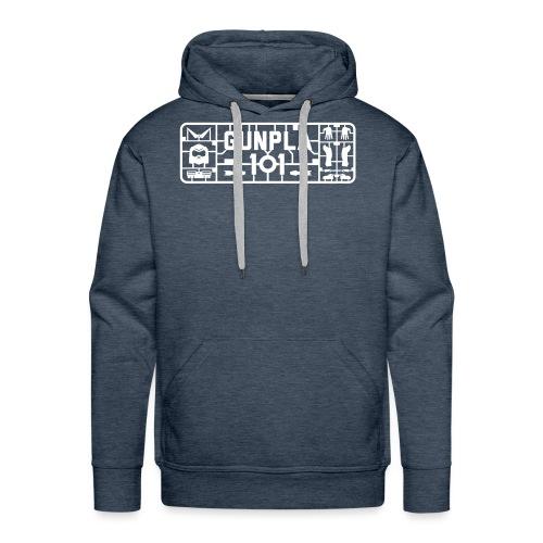 Gunpla 101 Men's T-shirt — Zeta Blue - Men's Premium Hoodie
