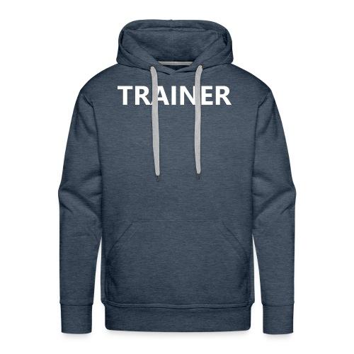 Trainer - Men's Premium Hoodie
