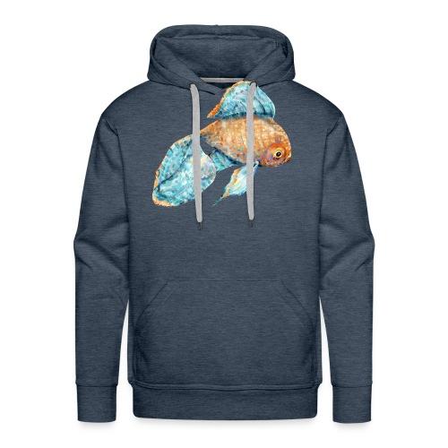 Blue Goldfish - Men's Premium Hoodie