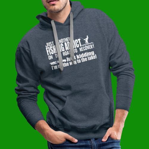 FISHING ADDICT - Men's Premium Hoodie