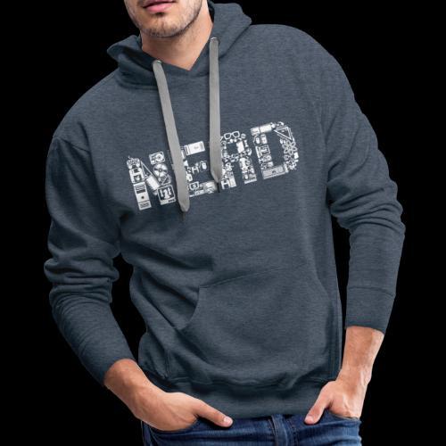 Nerd is the Word - Men's Premium Hoodie