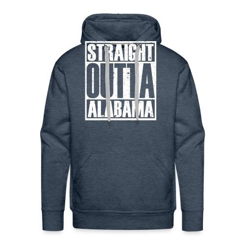 Straight Outta Alabama - Men's Premium Hoodie
