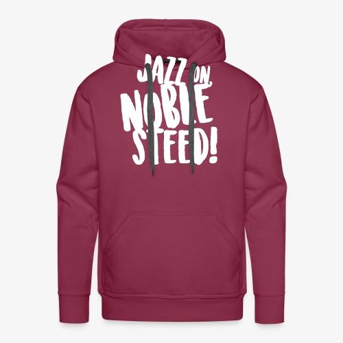 MSS Jazz on Noble Steed - Men's Premium Hoodie
