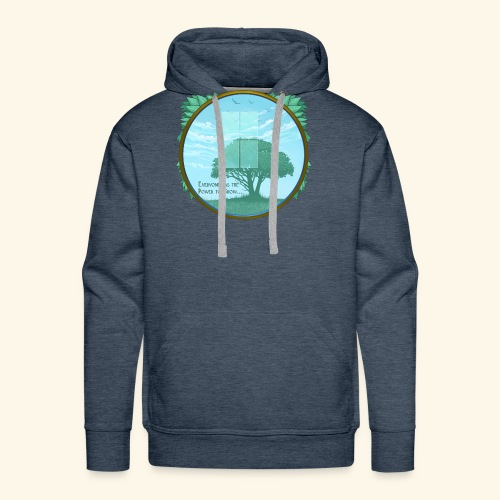 Everyone has the Power to Grow - Men's Premium Hoodie