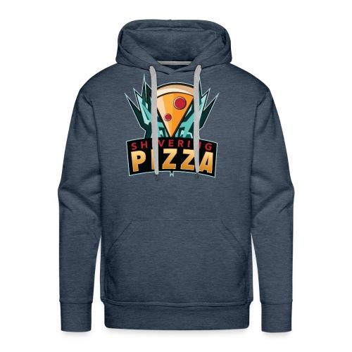 Shiveringpizza Logo - Men's Premium Hoodie