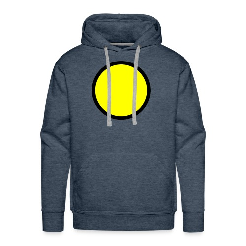 Circle yellow svg - Men's Premium Hoodie