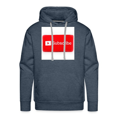 Subscribe T=shirts - Men's Premium Hoodie