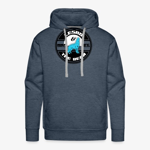 Lesbo and The Bean Logo - Men's Premium Hoodie