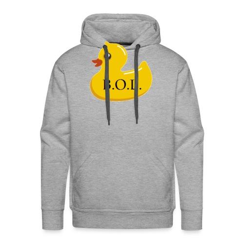 Official B.O.L. Ducky Duck Logo - Men's Premium Hoodie