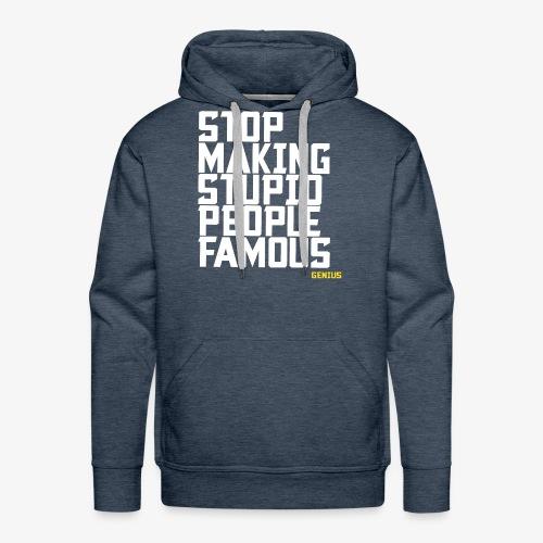 Stop it! - Men's Premium Hoodie