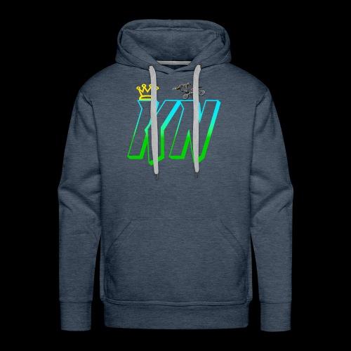 2018 keag and Nate Logo - Men's Premium Hoodie