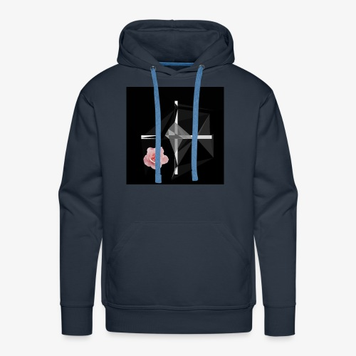 Roses and their thorns - Men's Premium Hoodie