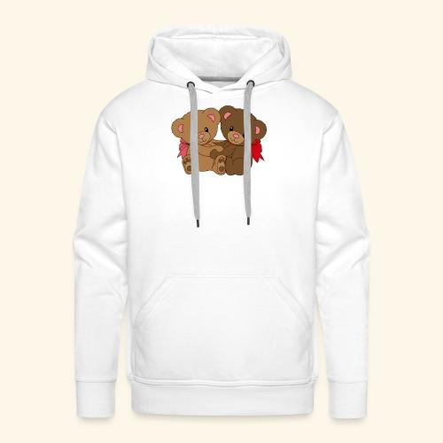 Bears Hugging - Men's Premium Hoodie