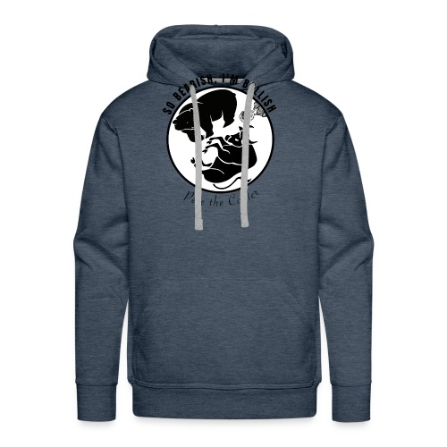 So Bearish, I'm Bullish - Pete the Cooler - Men's Premium Hoodie