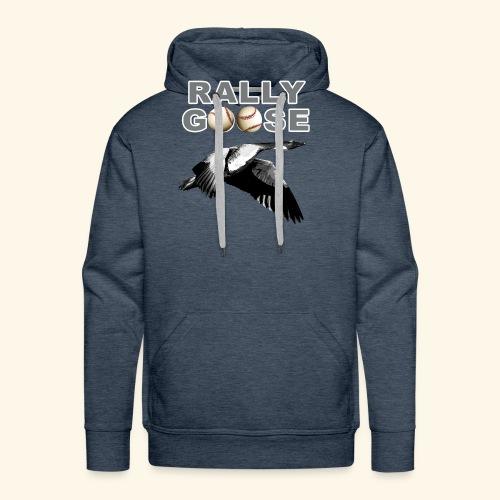 Detroit Rally Goose Baseball Lucky Charm Design - Men's Premium Hoodie