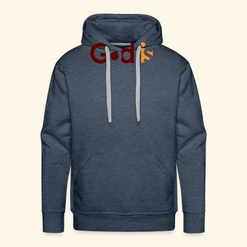 GOD IS #5 - Men's Premium Hoodie