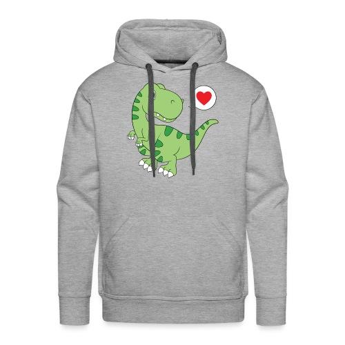 Dinosaur Love - Men's Premium Hoodie