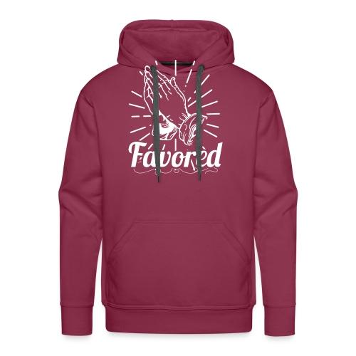 Favored - Alt. Design (White Letters) - Men's Premium Hoodie