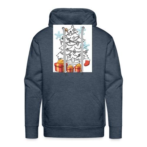 Christmas is here!! - Men's Premium Hoodie