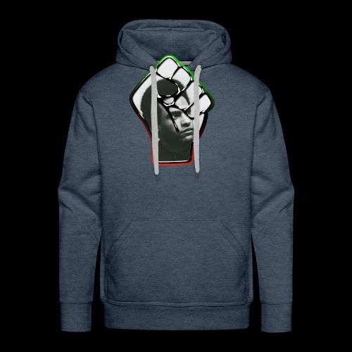Huey Newton RBG Fist - Men's Premium Hoodie