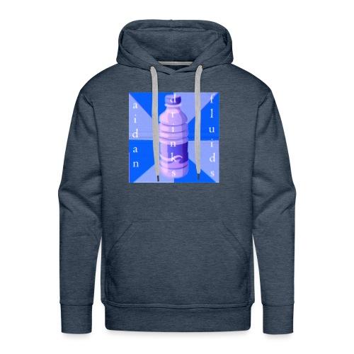 Aidan Drinks Fluids Logo - Men's Premium Hoodie