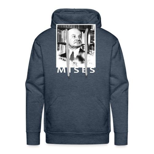Ludwig von Mises Libertarian Design - Men's Premium Hoodie