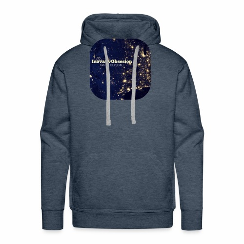 "InovativObsesion ""TURN ON YOU LIGHT"" Apparel - Men's Premium Hoodie"