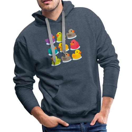 More rubber ducks to the people! - Men's Premium Hoodie