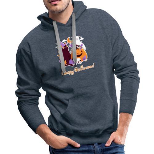 Halloween happy - Men's Premium Hoodie