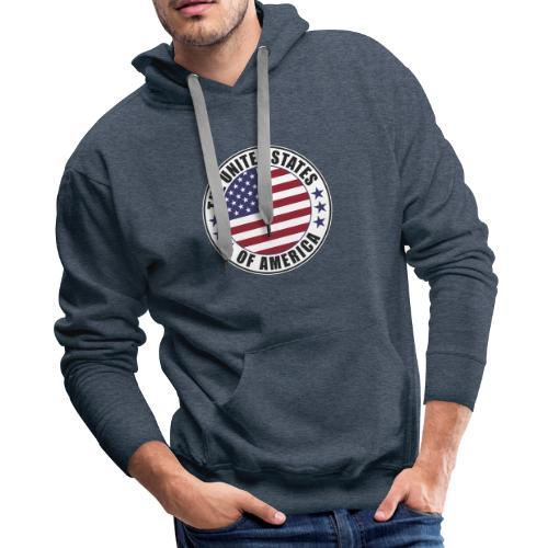 The United States of America - USA - Men's Premium Hoodie