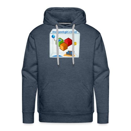 geekgirl.cloud logo - Men's Premium Hoodie