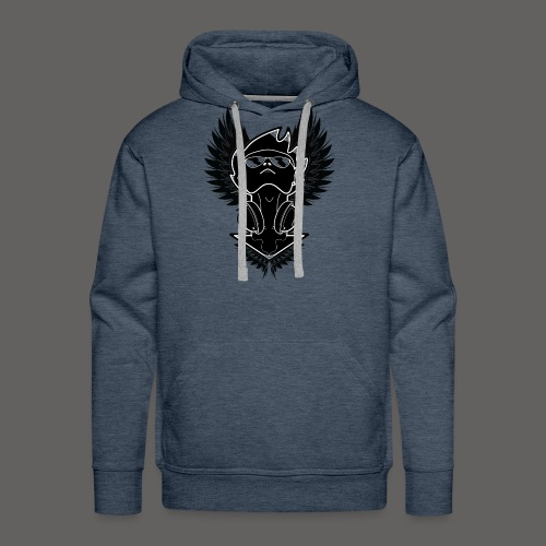 Winged Dj - Men's Premium Hoodie