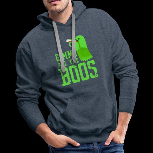 Gimme all the BOOS Ghost | Halloween Party Drink - Men's Premium Hoodie