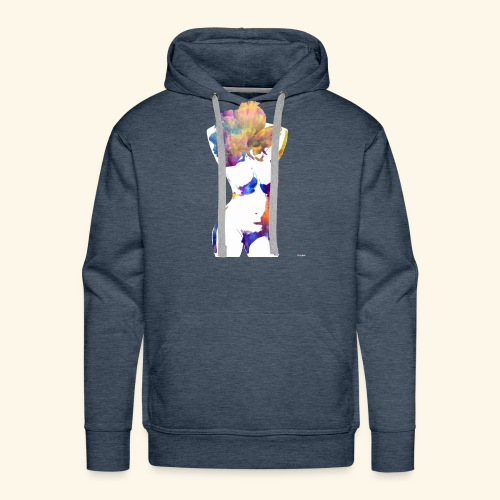 Flower Power Babe - Men's Premium Hoodie