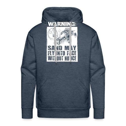 Dune Buggy Sand Warning - Men's Premium Hoodie