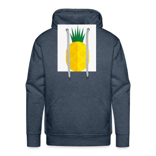 Pixel looking Pineapple - Men's Premium Hoodie