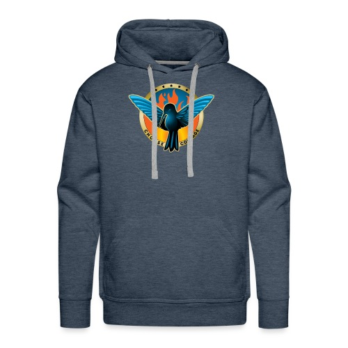 Choose Courage - Fireblue Rebels - Men's Premium Hoodie