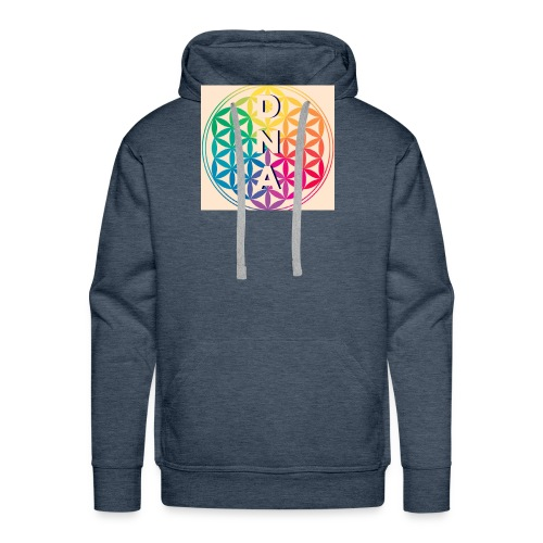 Flower of Life - DNA - Men's Premium Hoodie